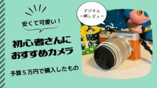 可愛くて安いカメラ